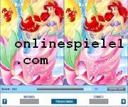 Disney princess find the difference spiele online